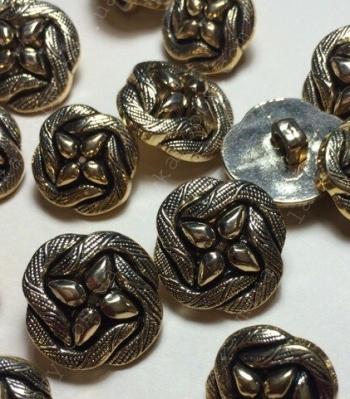 Пуговицы метализированые 200037