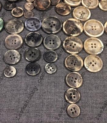 Пуговицы костюмные, пальтовые 200136