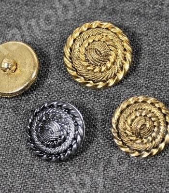 Пуговицы метализированые 200160
