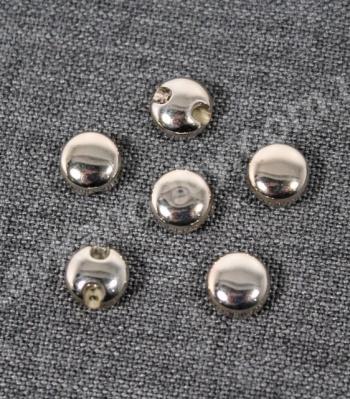 Пуговицы на ножке метализированые 200767