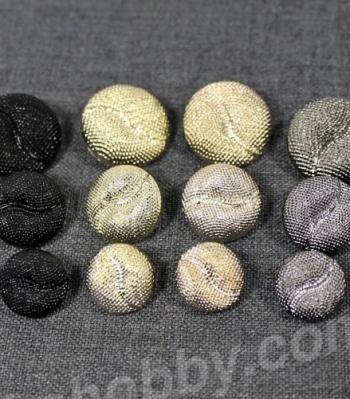 Пуговицы метализированые 200143