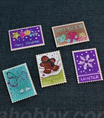 Деревяные марки 200896