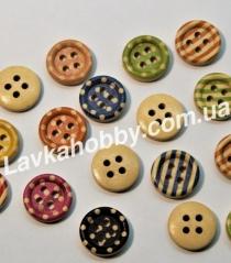 Пуговицы деревянные 200570